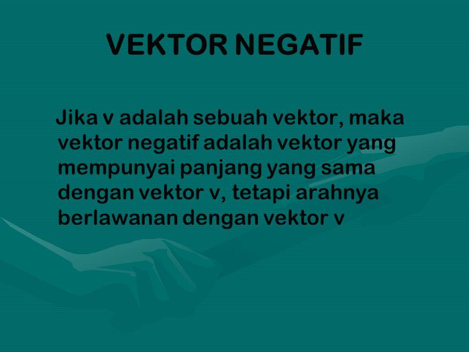 VEKTOR NEGATIF