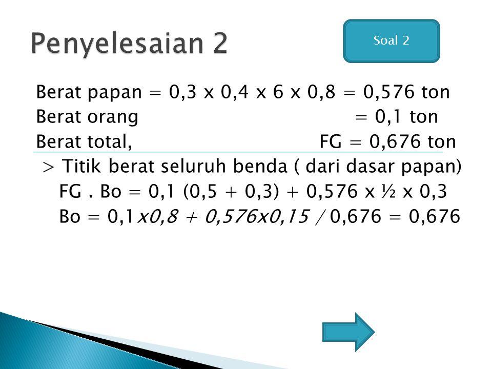 Penyelesaian 2 Soal 2.
