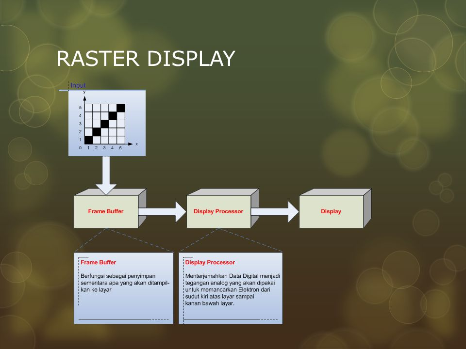 RASTER DISPLAY