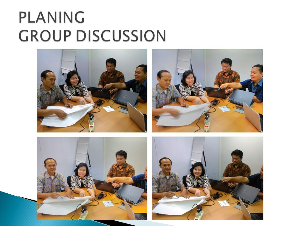 PLANING GROUP DISCUSSION