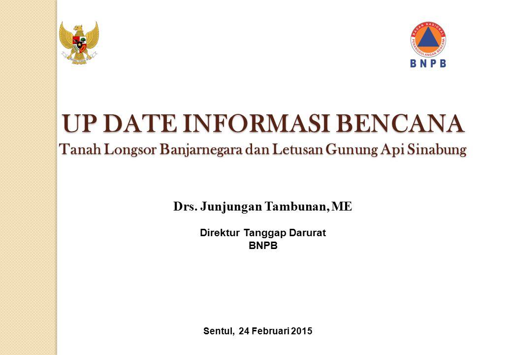 UP DATE INFORMASI BENCANA