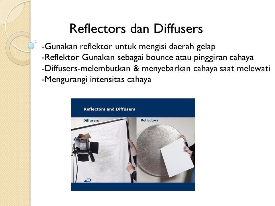 Reflectors dan Diffusers