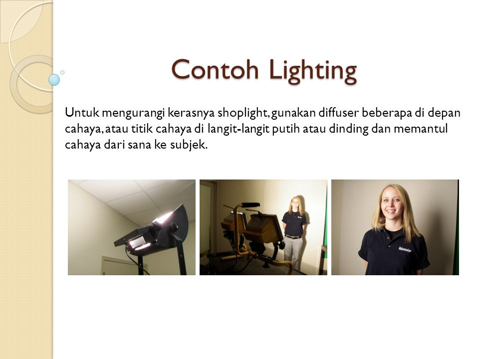 Contoh Lighting