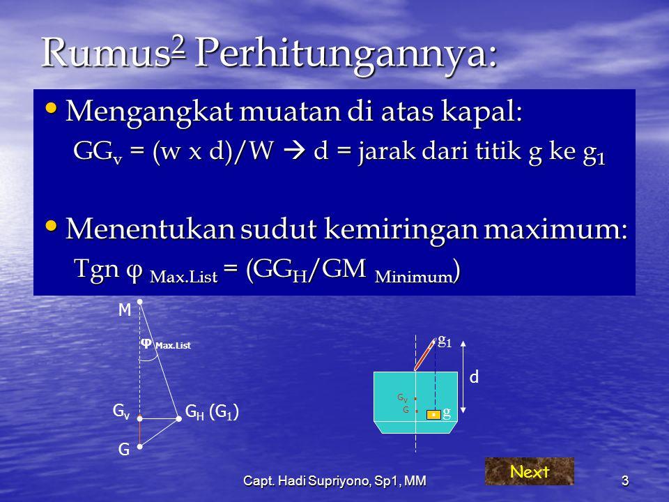 Rumus2 Perhitungannya: