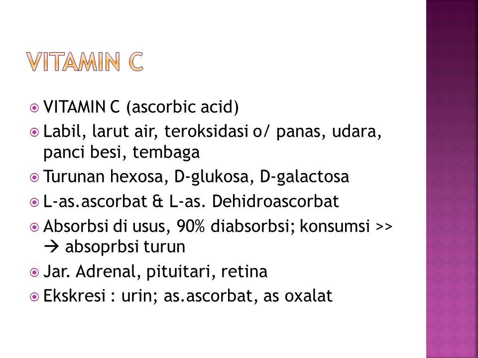 VITAMIN C VITAMIN C (ascorbic acid)