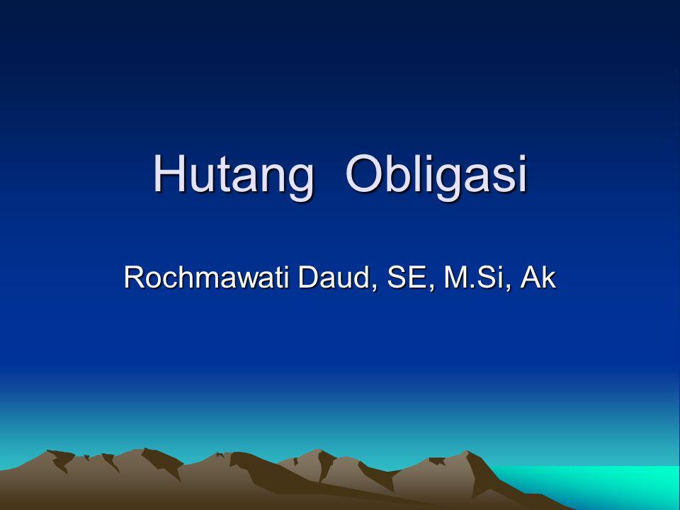 Rochmawati Daud, SE, M.Si, Ak