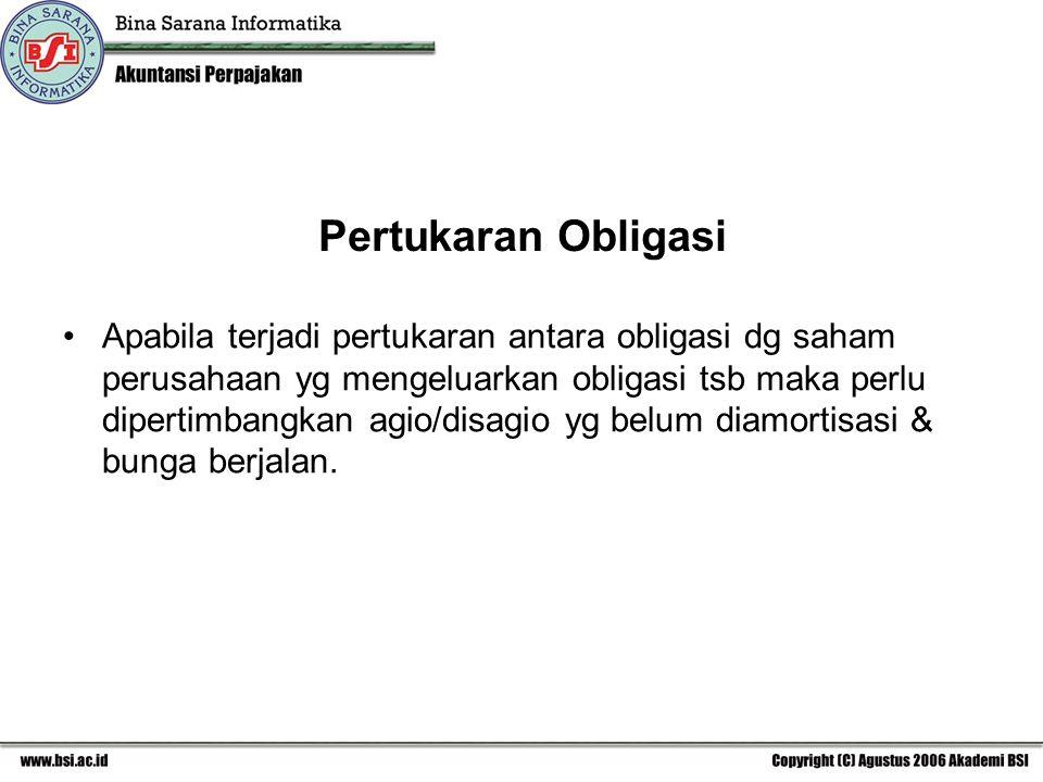Pertukaran Obligasi
