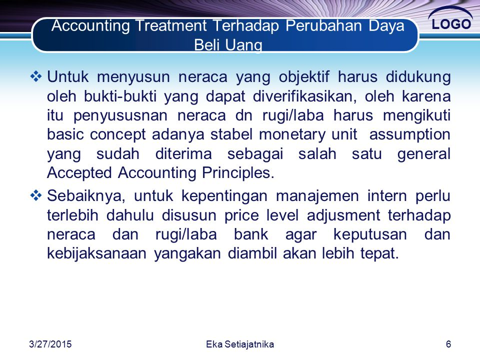 accounting treatment