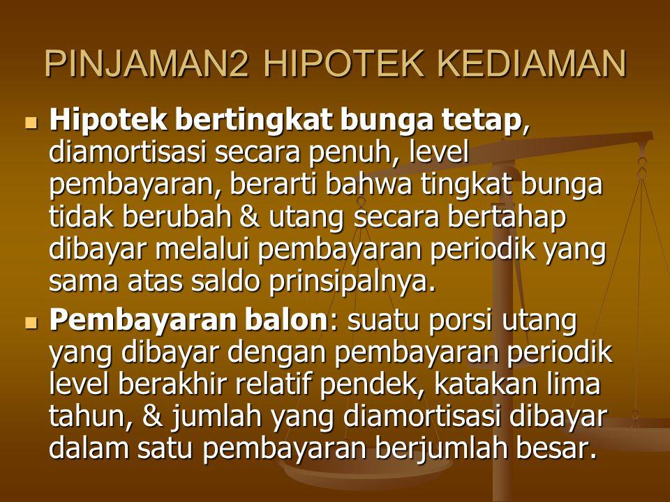 PINJAMAN2 HIPOTEK KEDIAMAN