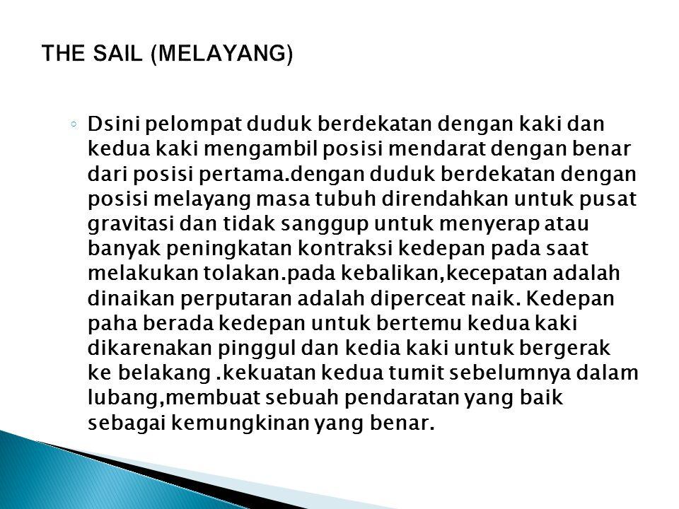 THE SAIL (MELAYANG)