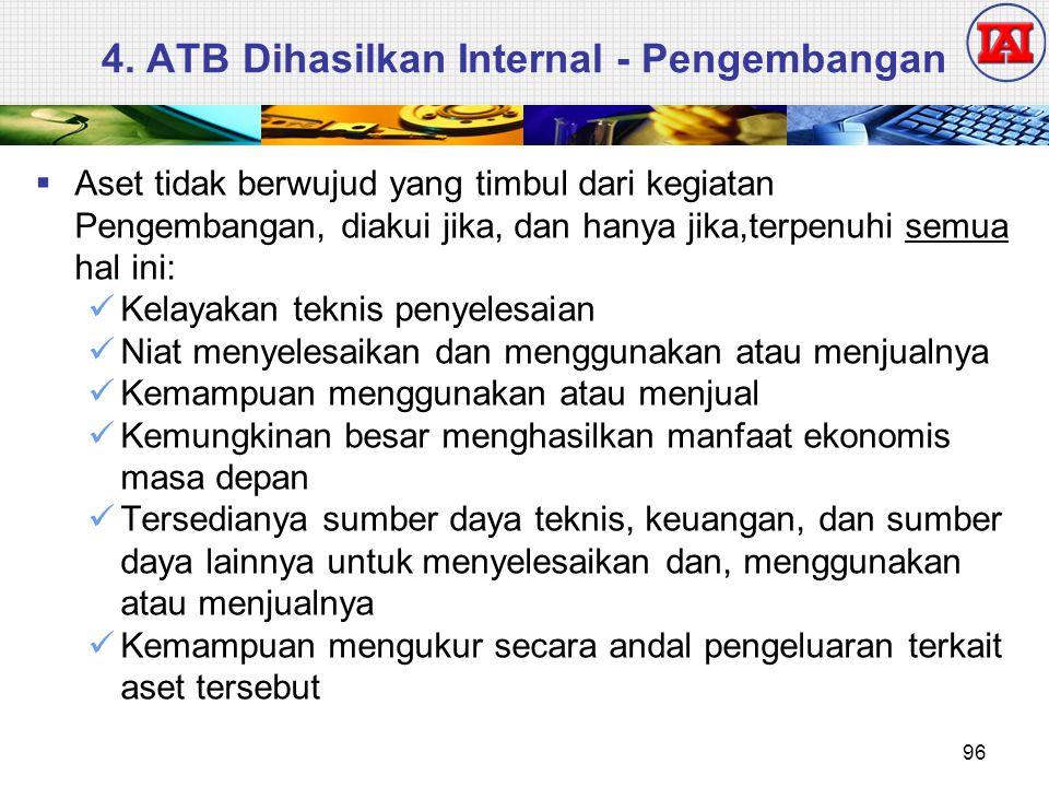 4. ATB Dihasilkan Internal - Pengembangan