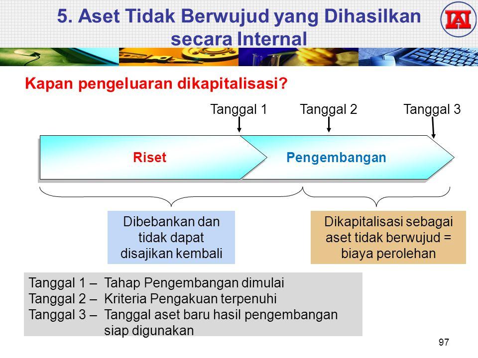 5. Aset Tidak Berwujud yang Dihasilkan secara Internal