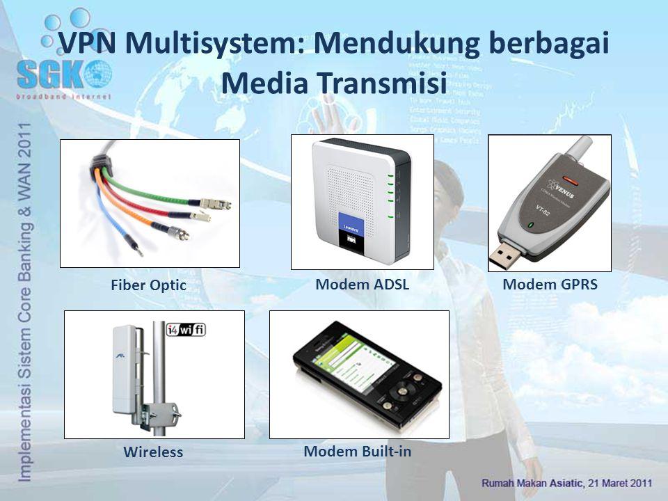 VPN Multisystem: Mendukung berbagai Media Transmisi