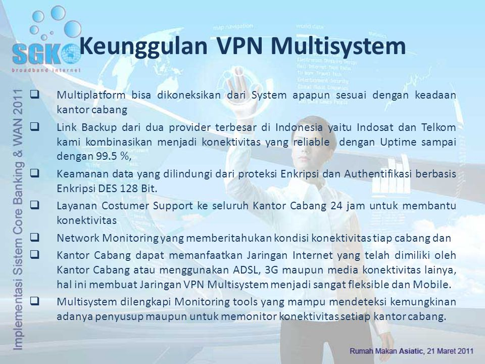 Keunggulan VPN Multisystem