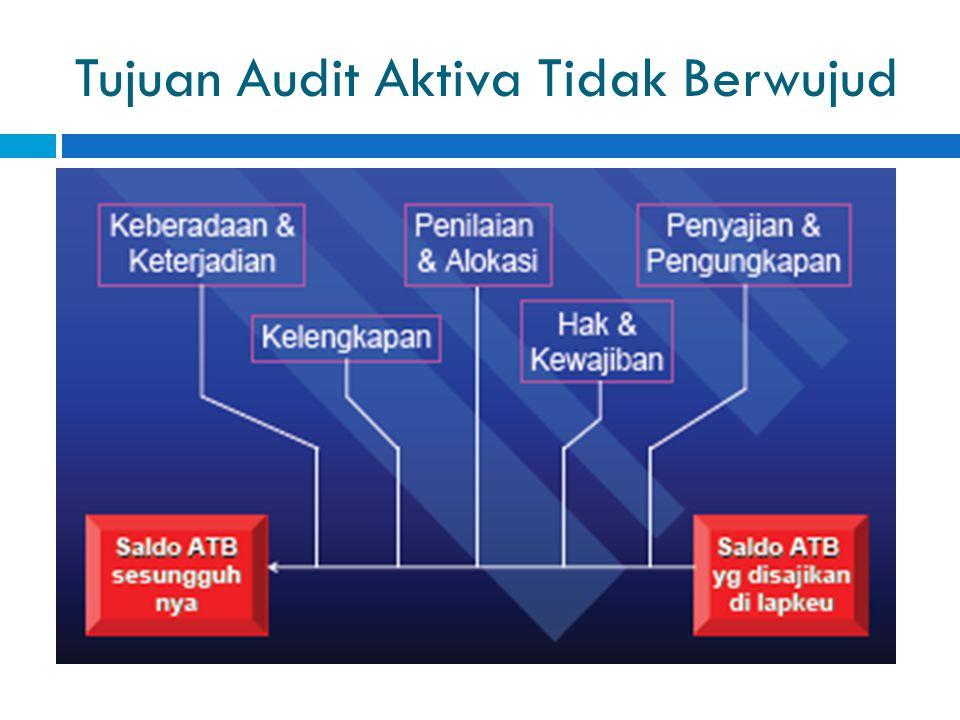 Tujuan Audit Aktiva Tidak Berwujud