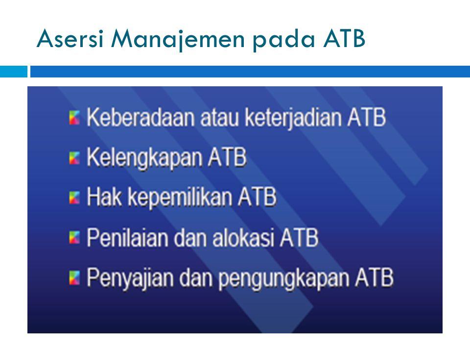 Asersi Manajemen pada ATB