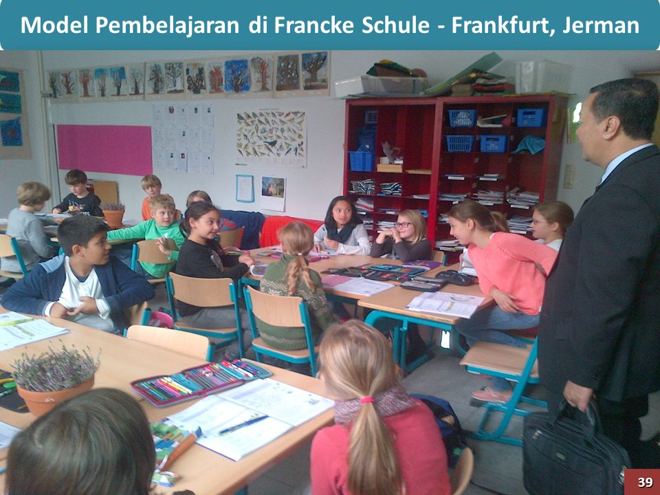 Model Pembelajaran di Francke Schule - Frankfurt, Jerman