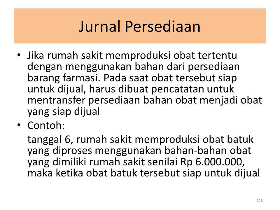 Jurnal Persediaan