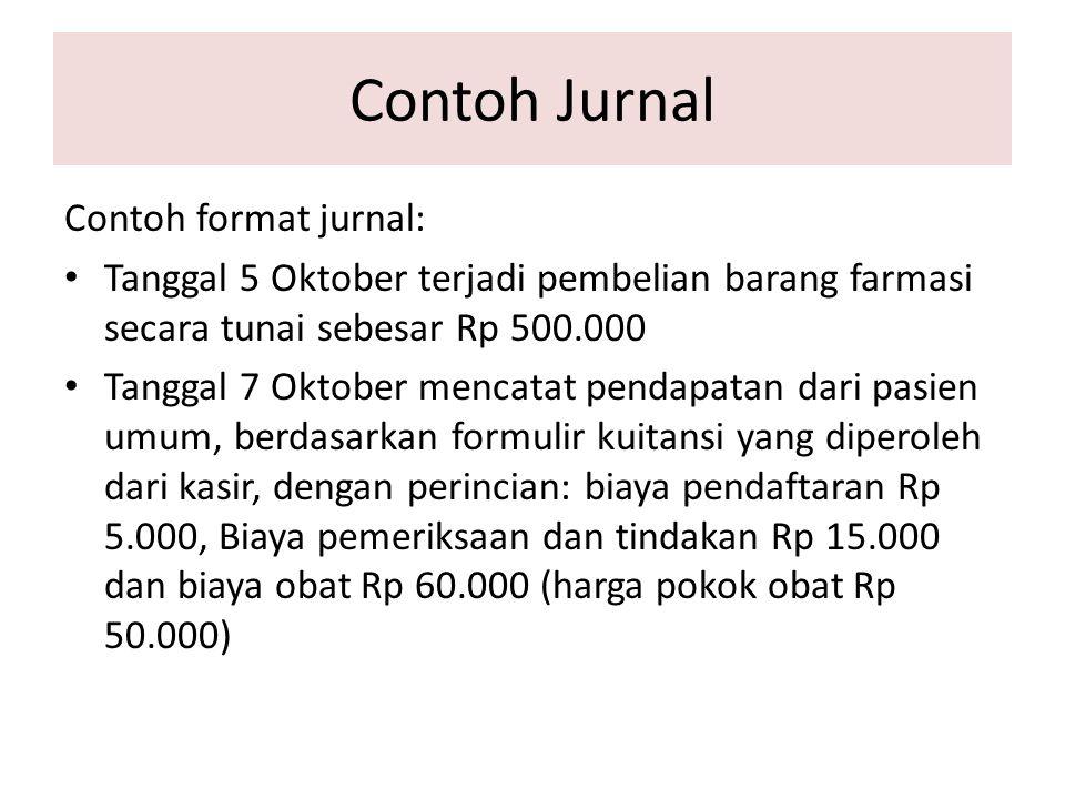 Contoh Jurnal Contoh format jurnal: