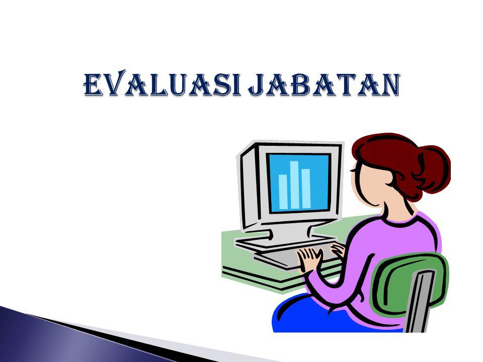 EVALUASI JABATAN