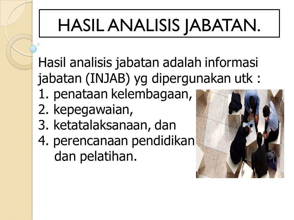 HASIL ANALISIS JABATAN.