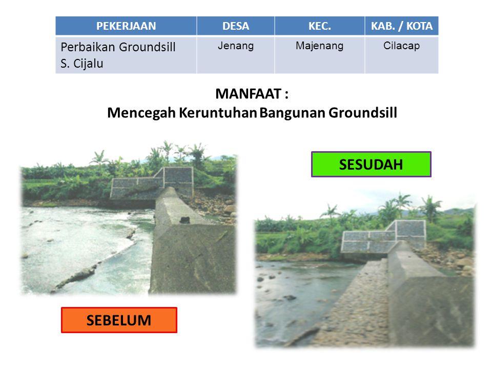 Mencegah Keruntuhan Bangunan Groundsill
