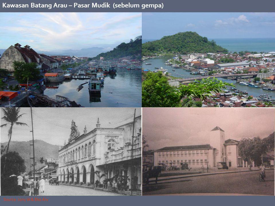 Kawasan Batang Arau – Pasar Mudik (sebelum gempa)