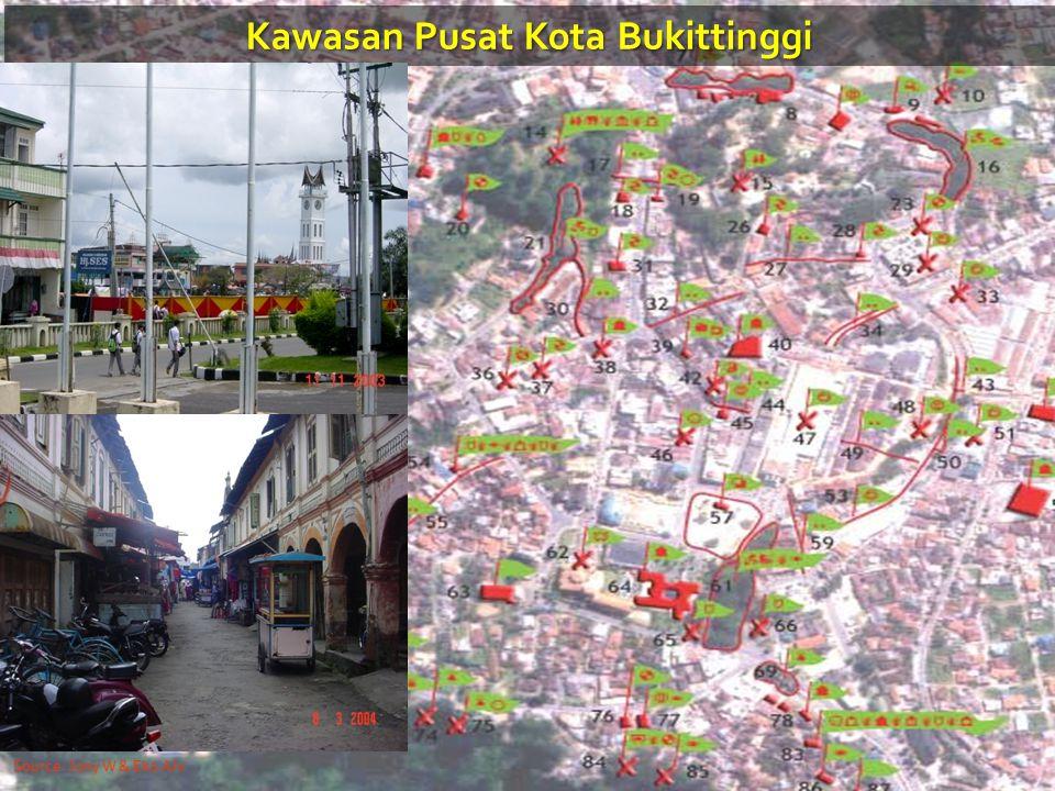 Kawasan Pusat Kota Bukittinggi