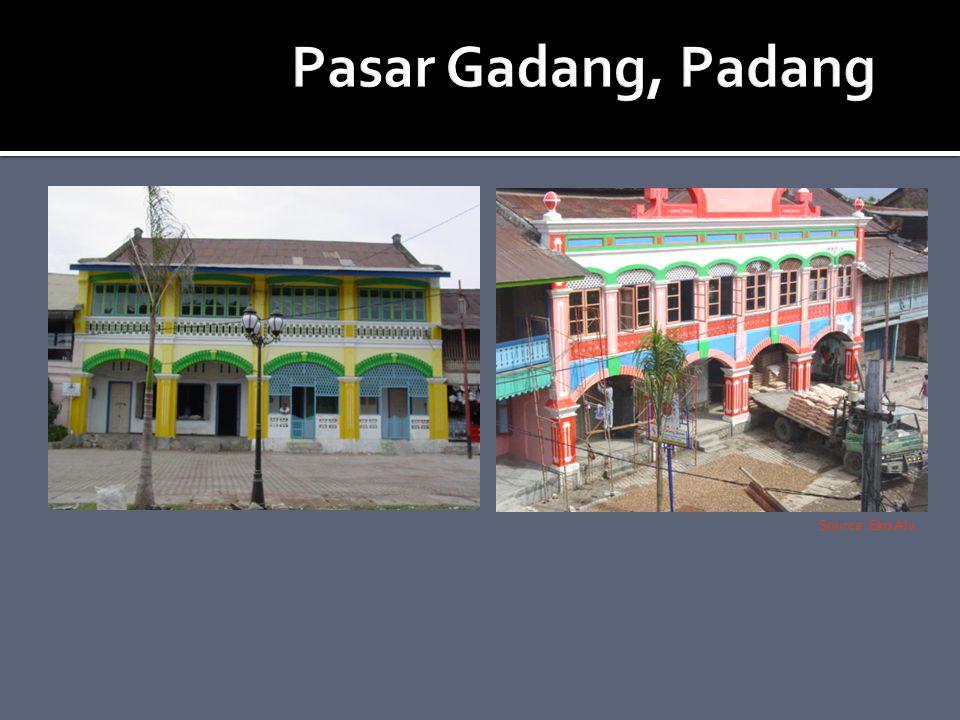 Pasar Gadang, Padang Source: Eko Alv.