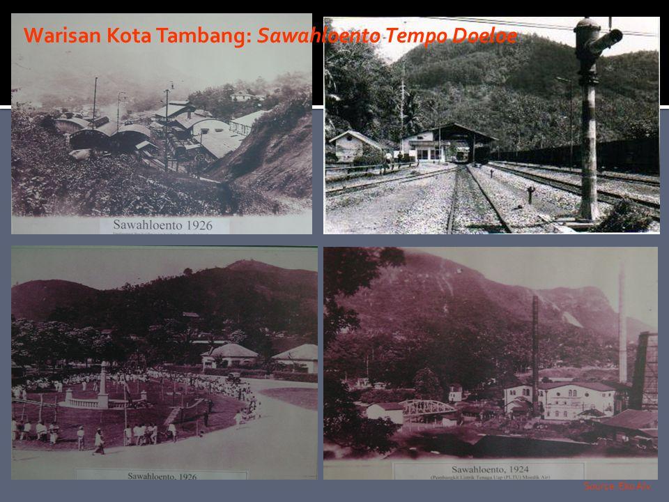 Warisan Kota Tambang: Sawahloento Tempo Doeloe