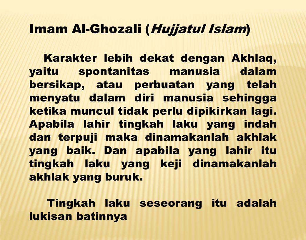 Imam Al-Ghozali (Hujjatul Islam)
