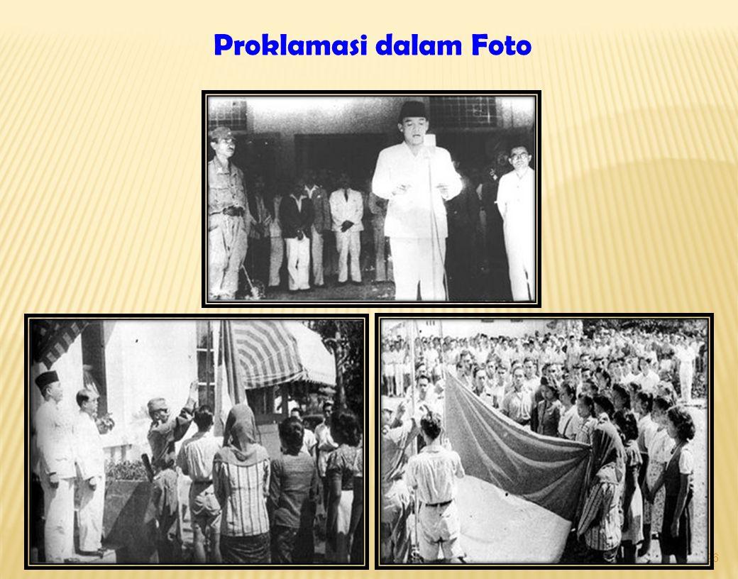 Proklamasi dalam Foto