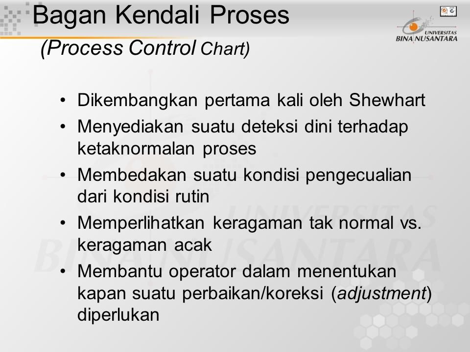 Bagan Kendali Proses (Process Control Chart)