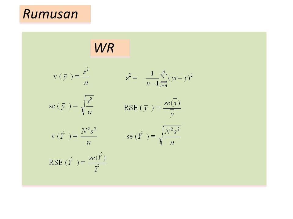 Rumusan WR