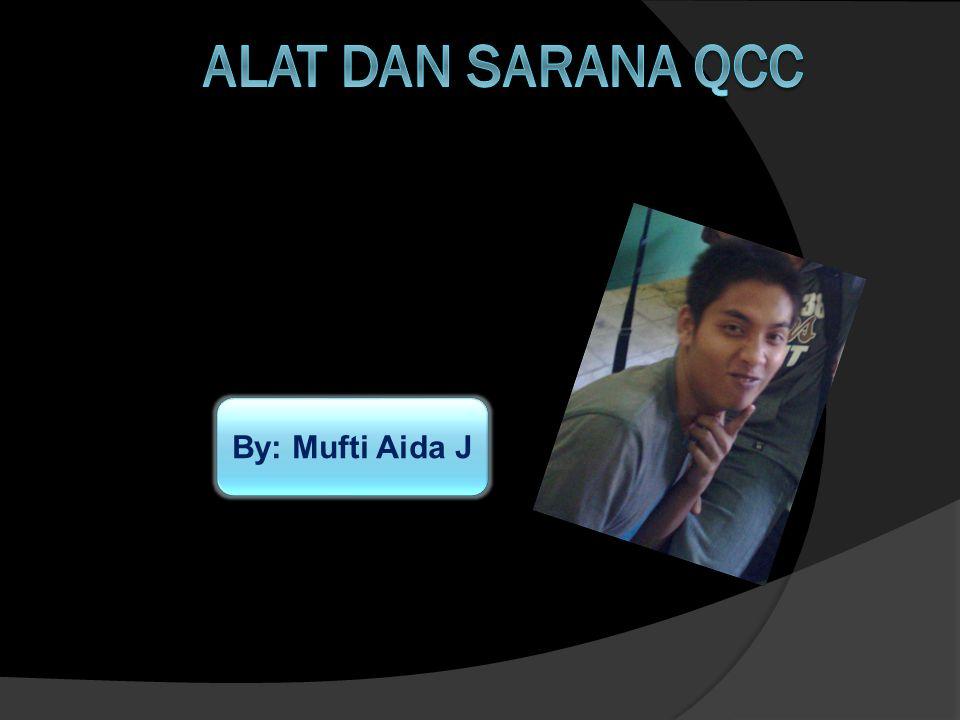 ALAT DAN SARANA QCC By: Mufti Aida J
