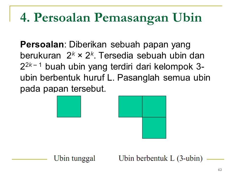 4. Persoalan Pemasangan Ubin