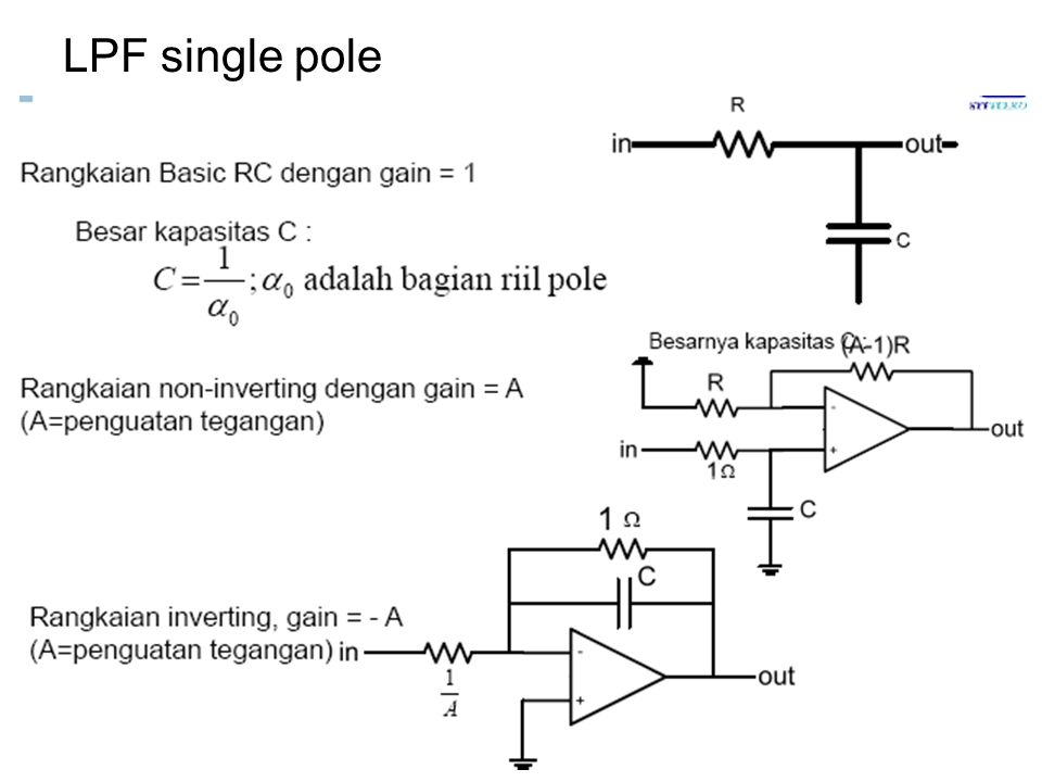 LPF single pole