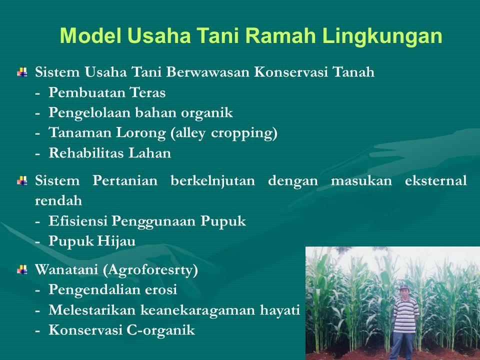 Model Usaha Tani Ramah Lingkungan