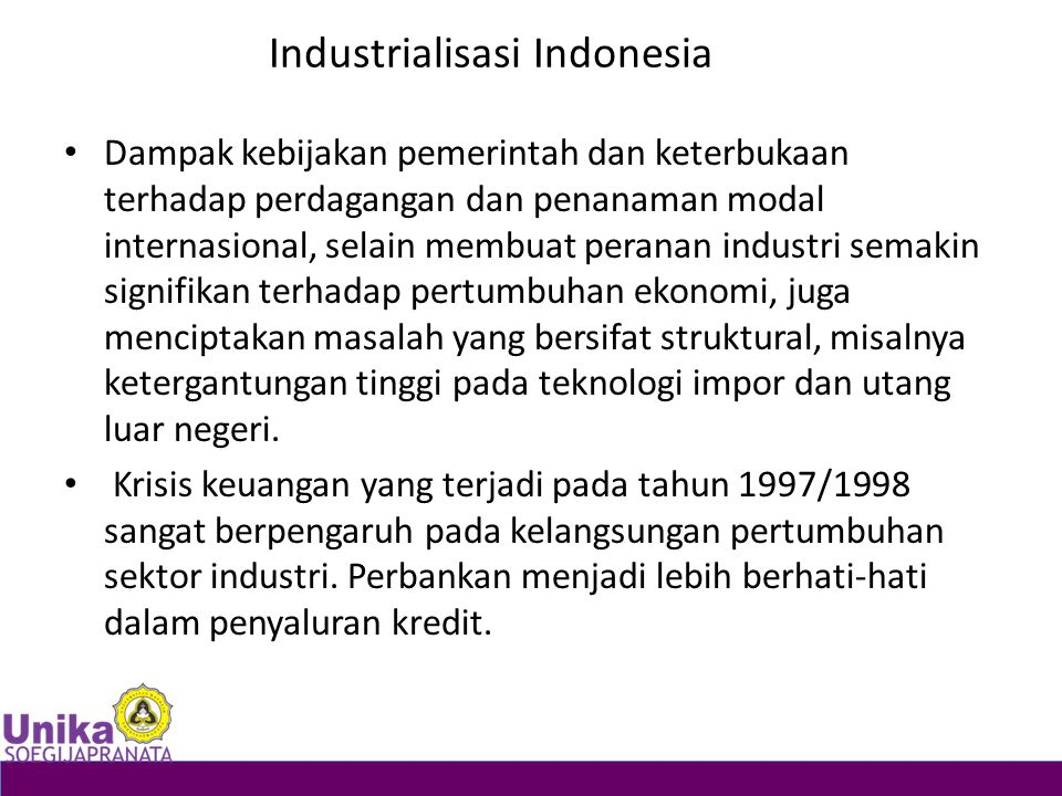 Industrialisasi Indonesia