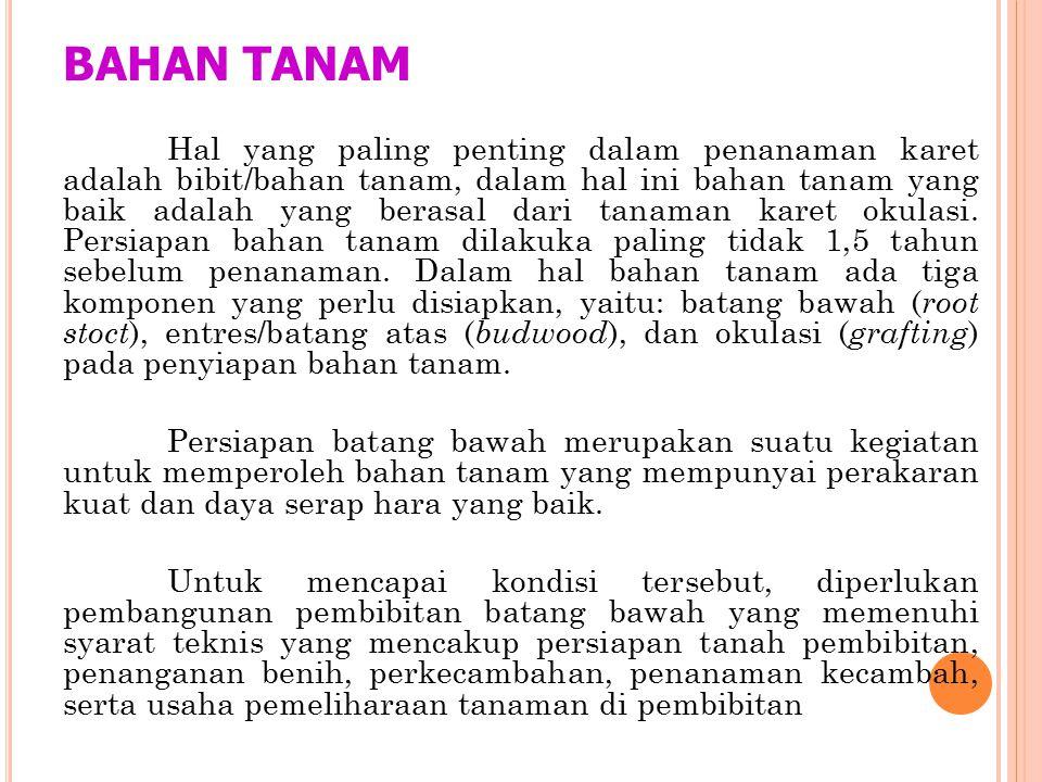 BAHAN TANAM