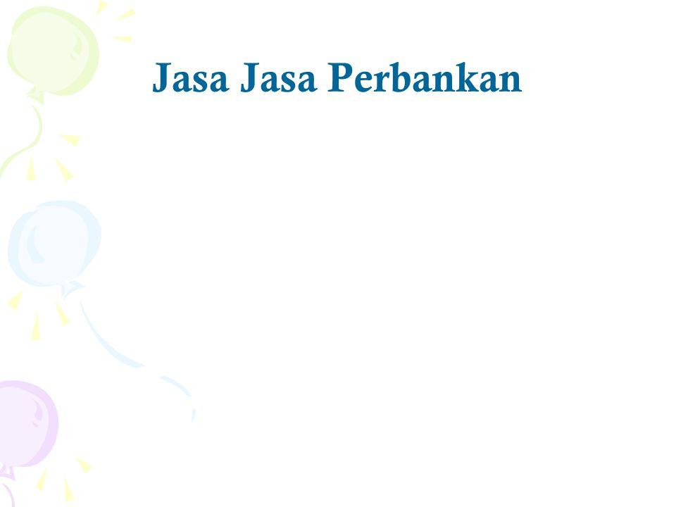 Jasa Jasa Perbankan