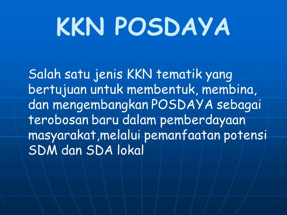 KKN POSDAYA
