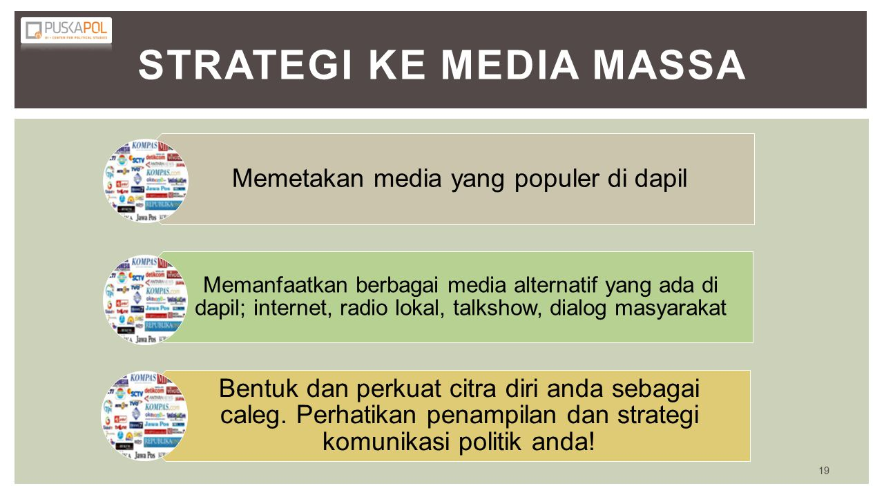 Strategi Ke Media Massa