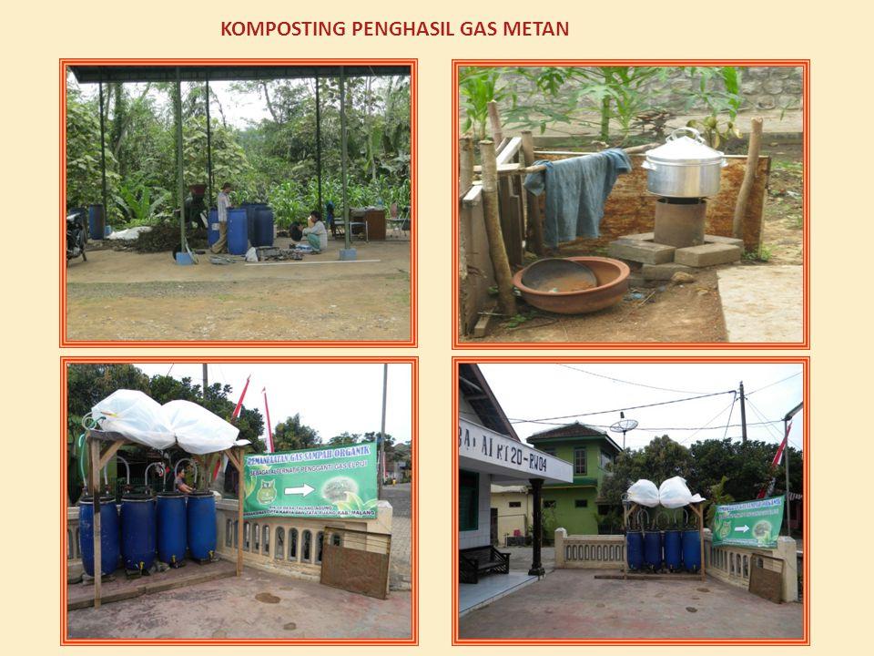 KOMPOSTING PENGHASIL GAS METAN