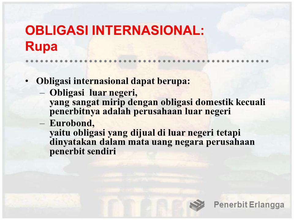 OBLIGASI INTERNASIONAL: Rupa