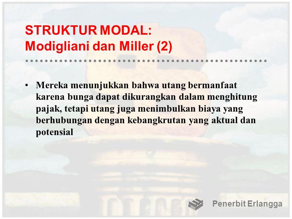STRUKTUR MODAL: Modigliani dan Miller (2)