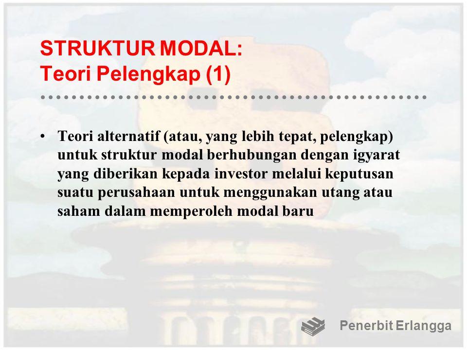 STRUKTUR MODAL: Teori Pelengkap (1)