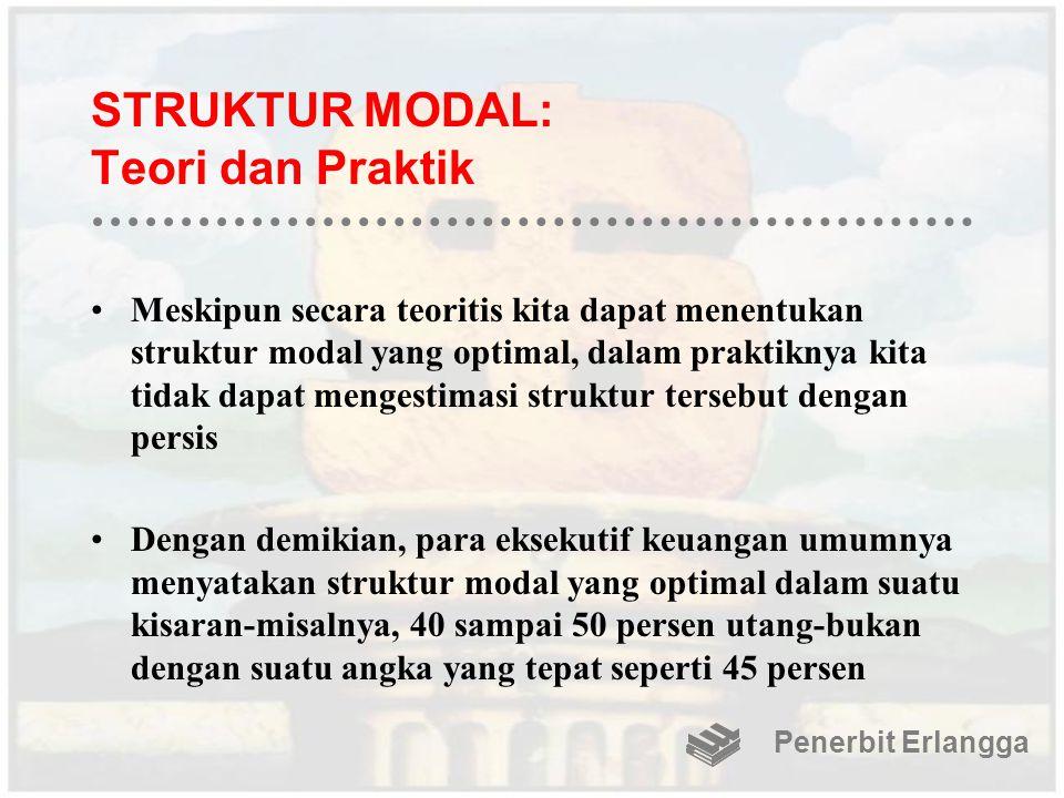 STRUKTUR MODAL: Teori dan Praktik