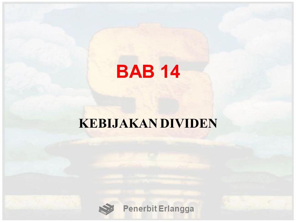 BAB 14 KEBIJAKAN DIVIDEN Penerbit Erlangga