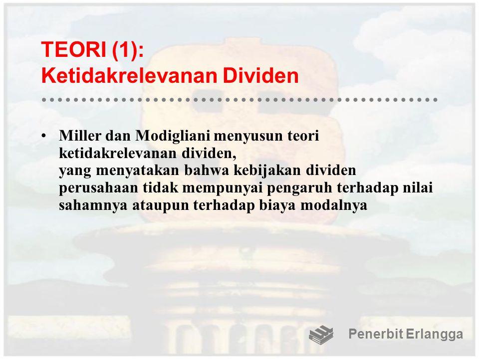 TEORI (1): Ketidakrelevanan Dividen